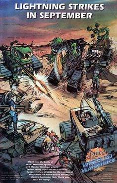 Jayce and the Wheeled Warriors cartoon ad from 1985. Desenhos Hanna Barbera, French Anime, Ulysse 31, After School Special, Best Cartoons Ever, Old School Toys, Saturday Morning Cartoons, Retro Toys, Vintage Toys