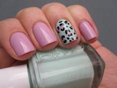 My Current Nail Art Obsession? The Accent Nail! - Nail styles and Nail Polish | Daily Nail