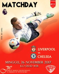 Liverpool vs Chelsea Sunday, Nov. 26 2017