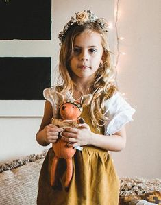 Hazel Village Phoebe The Bohemian Fawn Doll - Noble Carriage