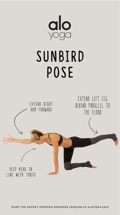 Sunbird Pose #yoga