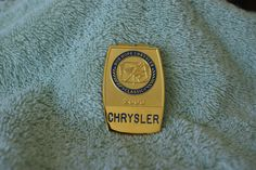 Bob Hope Chrysler 2003 Player's Badge Money Clip Bob Hope, Money Clips, Badge, Badges, Money Clip