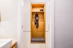 dobryinterier.sk Foyer, Entryway, Toilet, Cabinet, Bathroom, Storage, Furniture, Home Decor, Entrance