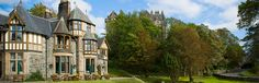 Knockderry House Hotel - incredible looking Scottish property. Located near Loch Lommond