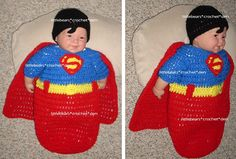 Superman Baby, Baby Cocoon, Type 3, Baby Items, Crochet Baby, Den, Crocheting, Christmas Sweaters, Theater