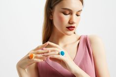 """""""Curio is not just a ring but an ever expanding selection of interchangeable parts of different styles, colors and shapes, all combined by you in sheer endless possibilities. Eye For Detail, Fashion Gallery, Different Styles, Shapes, Ring, Colors, Photography, Products, Fotografie"""