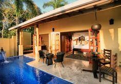 A romantic stay at an adults-only paradise above the Pacific, with an incredible private-pool villa