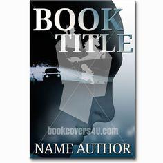 Car driving under bridge silhouette of man thriller premade book cover Under Bridge, Premade Book Covers, Book Title, Thriller, Author, Silhouette, Car, Books, Movie Posters