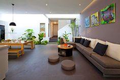 【実例】緑たっぷりのリゾート風インテリア | 海外インテリア&お部屋実例集