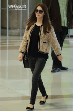 [121108] SNSD at Gimpo Airport Departure To Japan