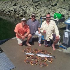 Crab and Salmon Fishing - Best areas Vancouver BC