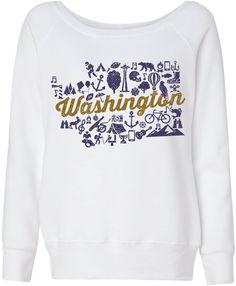 gokotis.com | #Washington #StateDesign #Sorority #Homecoming #SchoolSpirit #PNW…