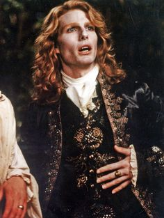 One of the few times I thought Tom Cruise was hot was when he played Lestat in Interview with a Vampire. One of my all-time favorite characters, that's probably why.