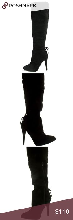 71aa67b4e92c NINA Nina Women s Keely-Fy Suede Knee-High zipper Closure Outer Material   Synthetic Sole  Manmade Closure  Zipper Heel Height  inches Heel Type   stilettos ...