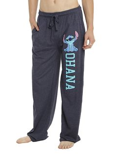 Disney Lilo & Stitch Ohana Guys Pajama Pants