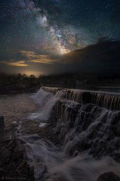 Waterfall Dreamscape by Aaron J. Groen on 500px