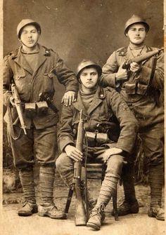 Italian soldiers WWI