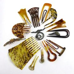 https://www.barnebys.co.uk/realisedprices/lot/36910043/a-collection-of-mainly-faux-tortoiseshell-hair-combs-and-clips/