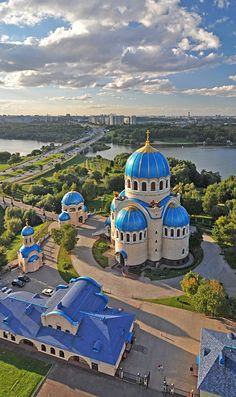 via By Sasha - Church of the Holy Trinity at the Borisovo ponds. Moscow, #Russia.