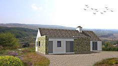 Barnesmore | McCabe Architects House Designs Ireland, Level Homes, Donegal, Cosy, Cabin, Architects, House Styles, Modern, Cottage Ideas