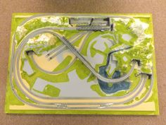 NOCH 59880 CORTINA LAYOUT BOARD WITH ROKUHAN READY BALLASTED TRACK | eBay