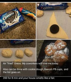 The BEST Chocolate Chip Cookies And Desserts Recipes – Easy and so Yummy! - New ideas Baking Recipes, Snack Recipes, Dessert Recipes, Snacks, Snack Hacks, Cookie Recipes, Kraft Recipes, Food Hacks, Frango Cordon Bleu