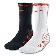 Lacrosse Unlimited's Nike Vapor sock.  Comes in various colors. Great cushioned sock to wick away moisture for a variety of sports.