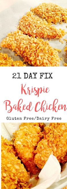 A Healthy Swap for Fried Chicken - YUM! Gluten-free, Dairy-free, and 21 Day Fix approved!