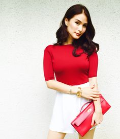 Heart Evangelista Escudero ❤️ Fashion 101, Daily Fashion, Womens Fashion, Elegant Chic, Elegant Woman, Heart Evangelista Style, Parisian Style, Parisian Fashion, Feminine Style
