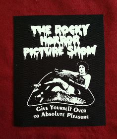 Hey, I found this really awesome Etsy listing at https://www.etsy.com/listing/233481520/the-rocky-horror-picture-show-cloth-punk