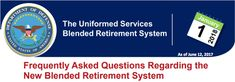 Blended Retirement System Question 19: What if I have a break in service-can I still opt into the Blended Retirement System?  Answer: If you left the military (prior to January 1 2018) and rejoin after the opt-in decision year (calendar year 2018) upon re-entry you will have 30 days to decide whether to stay in the legacy retirement system or elect the new BRS so long as you are either in the active component and meet the less than 12-year service criterion or in the Reserve component and…