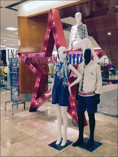 Take advantage of this center store American Icon display to star in your own selfie along with the Macy's® Star Logo. Star Logo, Slat Wall, H Style, S Star, Visual Merchandising, Parents, Channel, Retail, Display