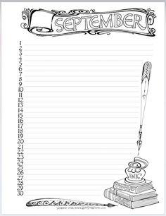 Don't miss the Zenspirations® September calendar FREE DOWNLOAD in this week's Zenspirations blog.