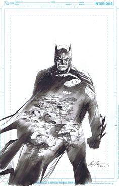 Batman art by Rafael Albuquerque