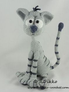 Kit the Cat – Amigurumi Crochet Pattern  