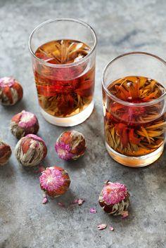flowering (flowering) tea