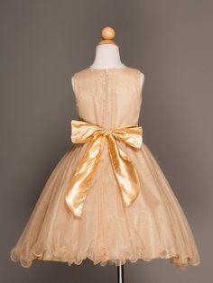 Sparkling GOLD Flower Girl Dress - New Arrivals