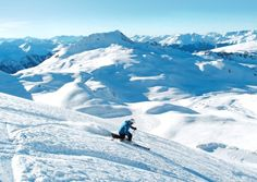 Love skiing in the French Alps but hate the crowded slopes? Discover 4 hidden Alpine resorts in France, easily accessible by ski lift, where you can ski off-piste and get away from the crowds French Ski Resorts, Ski Lift, French Alps, Skiing, France, Mountains, Beach, Travel, Ski