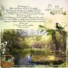 hello Spring - Oscraps Gallery