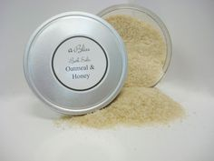 Oatmeal Honey Bath Salts- All natural bath products handcrafted at Abilis. All profits support people with disabilities.