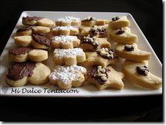 Facil receta de las deliciosas galletas de mantequilla