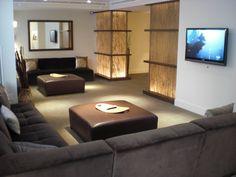 Pretty decor at Echelon Chelsea #bamboo #ottoman