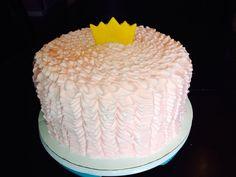 Ruffle princess cake
