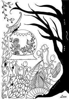 Free coloring page coloring-spring-arrival-by-leen-margot. Coloring 'Eggs' by Leen Margot. Facebook page