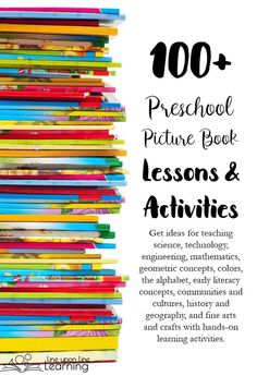 Get more than 100 preschool picture book lessons and activities.