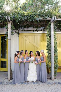Remember, it's your wedding: http://www.stylemepretty.com/little-black-book-blog/2014/01/29/dos-and-donts-of-picking-the-perfect-bridesmaid-dress/