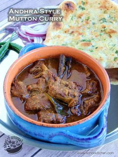 A taste of memories -- Echo's Kitchen: Andhra Style Mutton Curry
