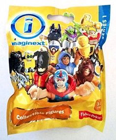 Fisher-Price Imaginext Blind Bag Series 1 Collectible Figures #FisherPrice
