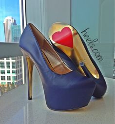 Knockout Navy Pumps from Luichiny Shoes