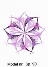 spiral_06 Blackwork Embroidery, Paper Embroidery, Hand Embroidery Patterns, Japanese Embroidery, Flower Embroidery, Embroidered Flowers, Embroidery Stitches, Arte Linear, Pictures On String